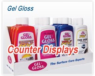 Gel Gloss Point of Purchase Display