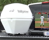 VQ2500 Tailgater Fully Automatic Portable RV Satellite