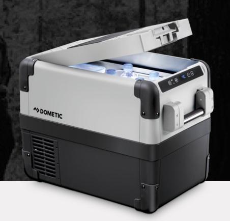 dometic cfx 28 portable cooler freezer damaged box. Black Bedroom Furniture Sets. Home Design Ideas