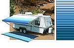 Carefree Rv Awning Vinyl Canopy Replacement 18ft Ocean Blue