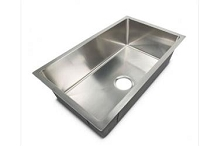 Lippert Components 27 Inch Width x 16 Inch Length x 7 Inch Depth Stainless Steel Sink