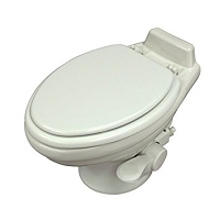 Dometic 320 Low Profile RV Toilet White