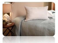 Pillow; Jumbo; 28 Inch x 20 Inch; Polyester Fiber Fill; Soft; 350 Thread Count Cotton Cover