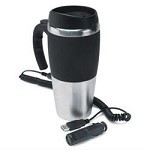 16 Oz. 12V/USB Heated Travel Mug