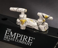 Empire Brass Tru-timber Snowfall Camouflage Lavatory Faucet