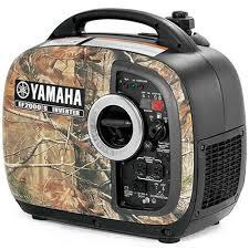 Yamaha camo portable inverter ef2000isch for Yamaha inverter generator vs honda