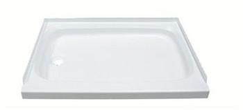 Shower Pan Better Bath Rectangular 24 Inch X 40 Inch