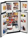 RV Refrigerator Norcold Ultraline 1210IM With Ice Maker-12 Cu Ft-Four Door - Side/Side