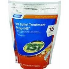 Rv Toilet Treatment Tst Orange Power Drop Ins 15 Bag