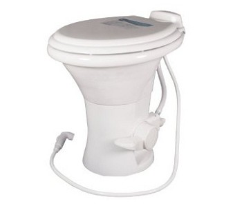 Dometic 310 RV Toilet -With Hand Spray-White-302310111
