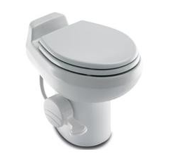 Dometic RV Toilet Bone Traveler 500 W/Hand Spray