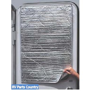 Rv Reflective Door Window Cover Solar Door Shade