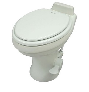 Dometic 320 Standard Height Ceramic RV Toilet, White