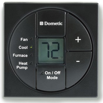 Dometic Ac Black Heat Pump Furnace And Cool Thermostat