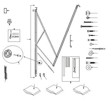 Dometic Weatherpro Awning Hardware Standard Fifth Wheel Model