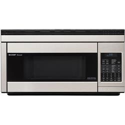 Sharp 1 Cu Ft Convection Microwave Hood Stainless Steel