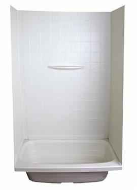 Lippert Components 24 Quot X 36 Quot X 59 Quot Bath Surround White