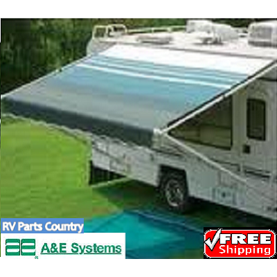 A&E 8500 19' RV Replacement Awning Fabric