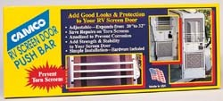 RV Screen Door Push Bars, Aluminum