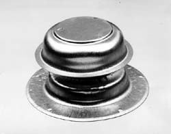 "RV Plumbing Vent Cap for 1 1/2"" Pipes-Ventline-Galvanized Steel"
