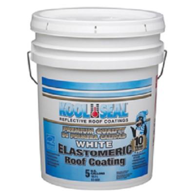 Rv Roof Coating 5 Gallon White Elastomeric