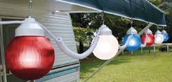 RV Lights, Patriot Globe 6 Lights