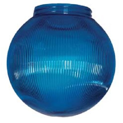Camper Awning Light Replacement Globe - Blue