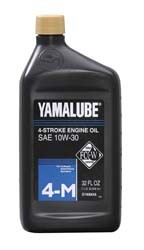 10W 30 oil for Yamaha generators.