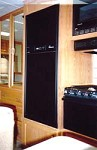 Refrigerator Door Panels - Black Acrylic