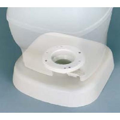 Camper Toilet Riser 2 1 2 Quot White Thetford