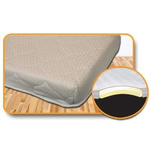 Hide A Bed 48 W X 72 L Memory Foam Mattress