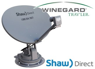 Winegard Trav'ler Shaw Direct RV Satellite - Dish LNB