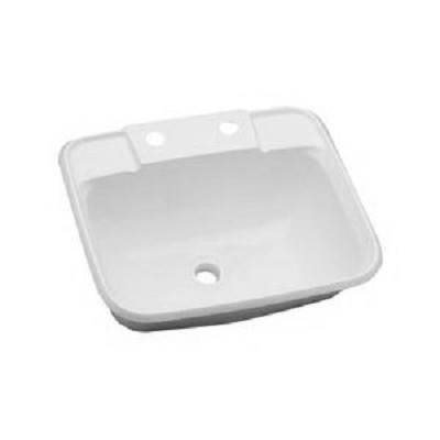 Plastic Utility Sink : RV Utility Sink, Plastic, White RV Parts Country