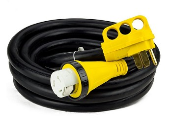 25 50 Amp Rv Power Cord With Twist Lock Plug