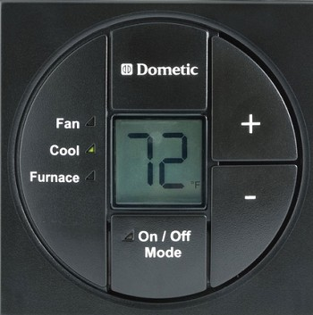 Boxthermostat black dometic single zone lcd thermostat and control kit black sciox Image collections