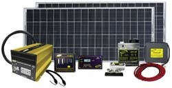 Solar Panels, Battery Chargers, & Kits