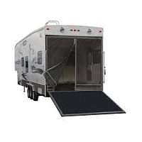 Classic Accessories Toy Hauler Bug Door Screen, Gray for Rear Opening Up To 90-1/2