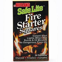Fire Starter Squares