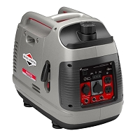 PowerSmart Series 2,200-Watt Gasoline Powered Recoil Start Portable Inverter with Engine