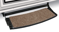 Outrigger Radius RV Step Rug Walnut Brown