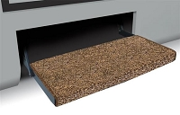 Entry Step Rug, Jumbo Wraparound (R) Plus, Wrap Around Hook And Spring, 23 Inch Width, Brown