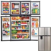 Norcold REFRIGERATORS & ICE MAKERS RV; 18CUBFT REFER-IM/SS