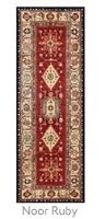 Ruggable Noor Ruby 2-1/2 Foot x 7 Foot