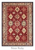 Ruggable Noor Ruby 5 Foot x 7 Foot