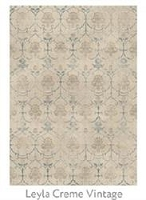 Ruggable Leyla Cream Vintage 5 Foot x 7 Foot