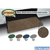 Outrigger RV Step Rug Walnut Brown 18 inchW