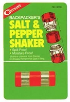 Camper's Salt and Pepper Shaker