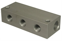 MB Sturgis Fuel Distribution Block 3 - 1/4 inch outlet