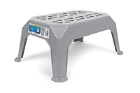Small Gray Plastic Step Stool