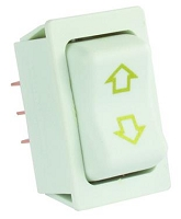 Slide Out Switch Momentary-On/ Off/ Momentary-On Switch 5 Pin Terminal 40 Amp/ 12 Volt